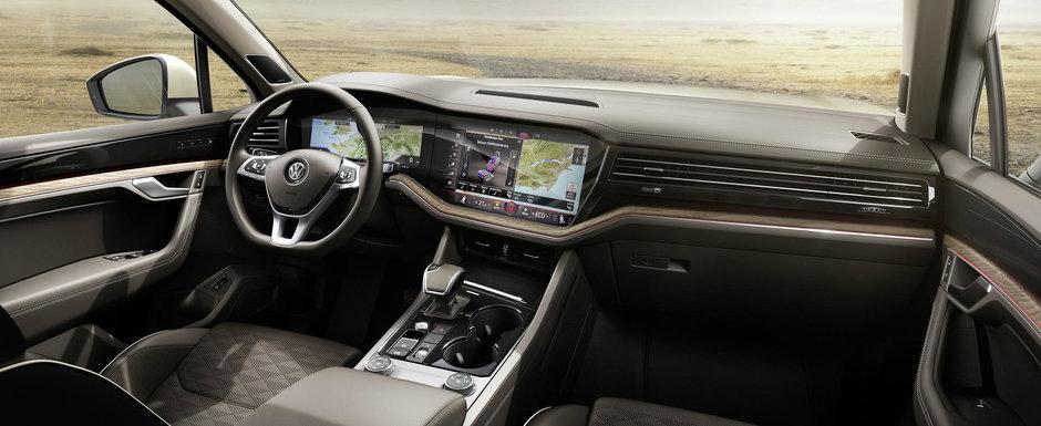 Volkswagen a publicat astazi primele imagini si detalii oficiale. ACESTA ESTE NOUL TOUAREG!