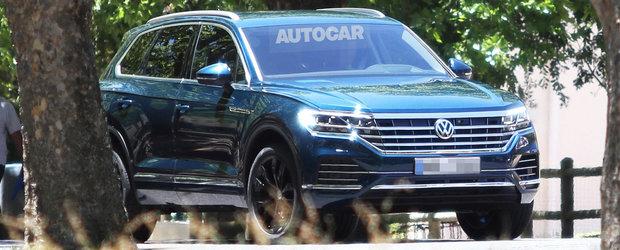 Volkswagen a rupt tacerea. Anuntul facut de nemti cu privire la noul Touareg