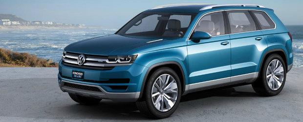 Volkswagen a schimbat numele viitorului SUV pentru a fi mai usor de pronuntat de americani