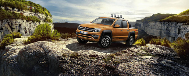 Volkswagen Amarok primeste o editie speciala si un motor diesel de 201 cai putere