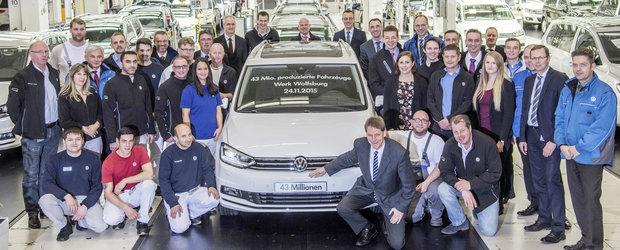 Volkswagen aniverseaza 43 de milioane de vehicule fabricate, nu toate... manarite