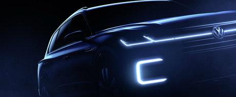 Volkswagen anunta debutul unui nou SUV. Sa fie acesta urmasul modelului Touareg?