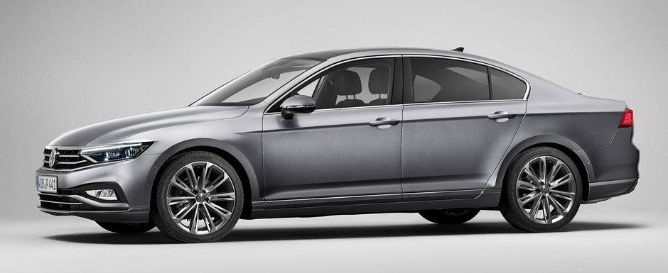 Volkswagen anunta o noua reducere de pret pentru piata din Romania. Cat costa acum Passat Facelift