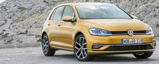 Volkswagen anunta o noua versiune de motorizare pentru Golf. Are 130 CP si te costa cel putin 19.403 euro