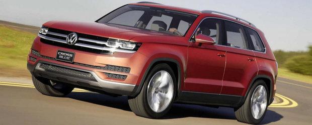 Volkswagen anunta un nou SUV. Primul cu 7 locuri din istoria germanilor!