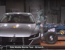 Volkswagen Arteon- Crash test EuroNCAP