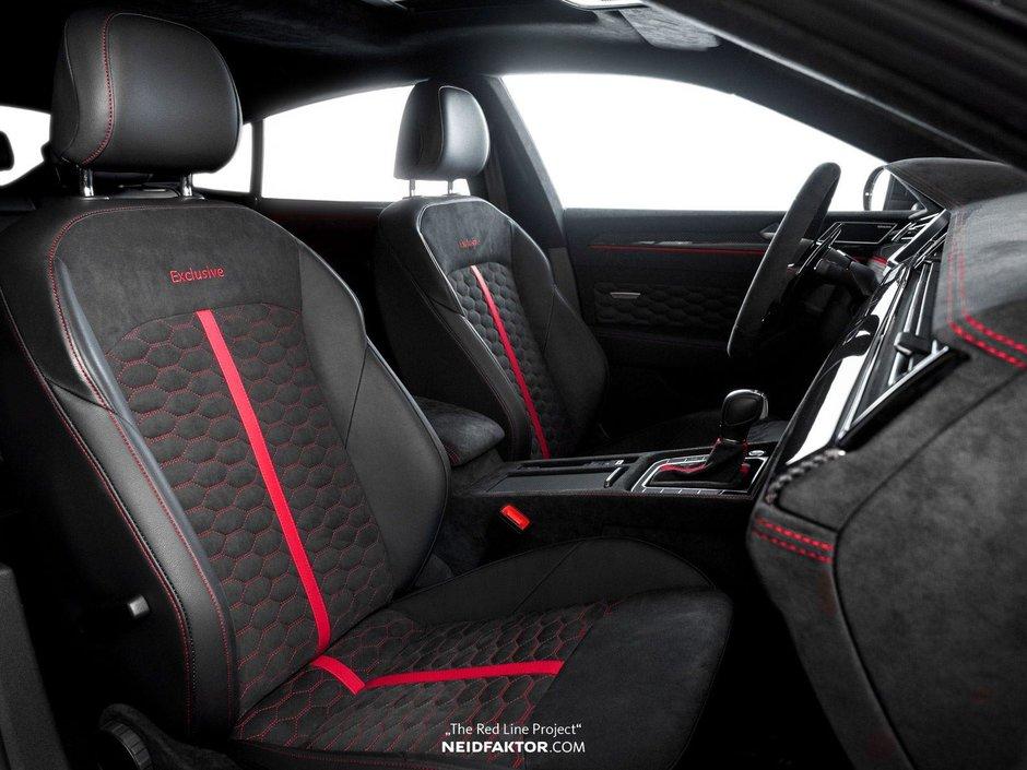 Volkswagen Arteon cu interior Neidfaktor