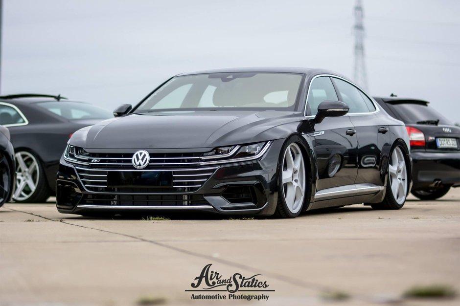 Volkswagen Arteon cu suspensie pe aer