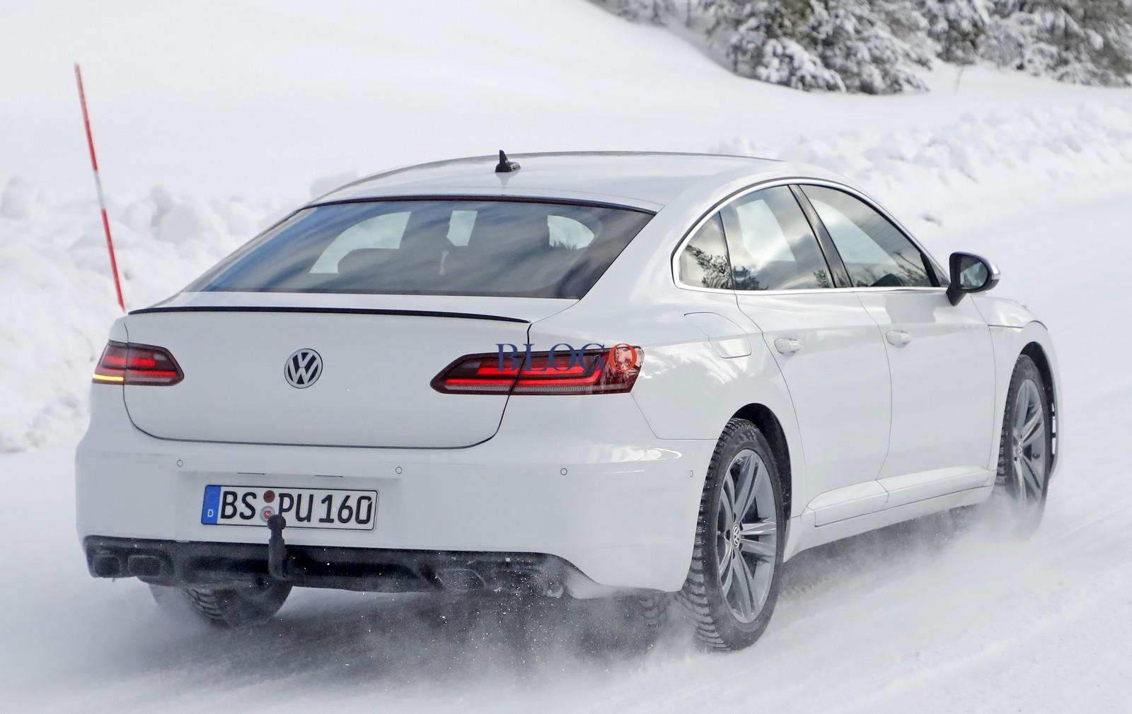Volkswagen Arteon R - Poze Spion - Volkswagen Arteon R - Poze Spion