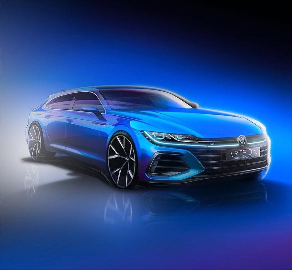 Volkswagen Arteon Shooting Brake - Prima poza
