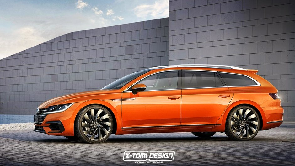 Volkswagen Arteon Variant- imagine digitala