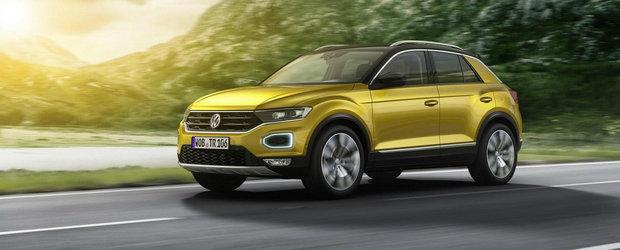 Volkswagen detaliaza gama de motorizari a crossover-ului T-Roc. Acesta primeste si o versiune R-Line