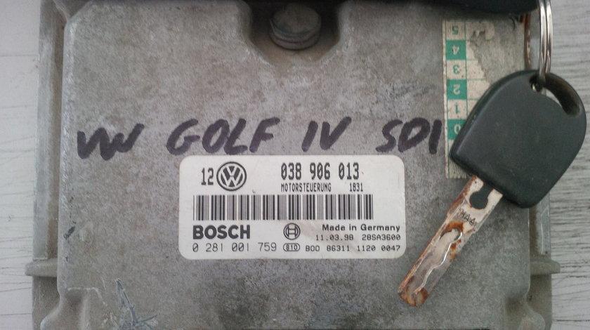 volkswagen golf 4 1.9sdi 038906013 BOSCH 0281001759