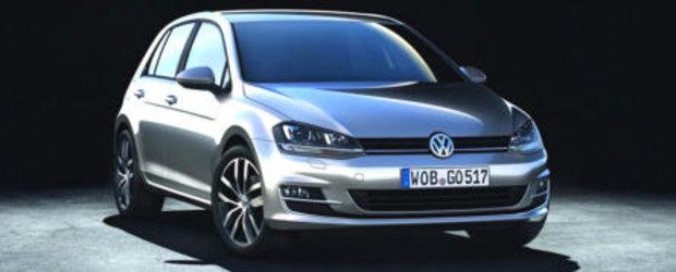 Volkswagen Golf 7, disponibil din decembrie si in Romania
