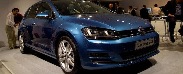 Volkswagen Golf 7 - Primele fotografii reale!
