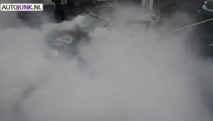Volkswagen Golf - Burnout masiv