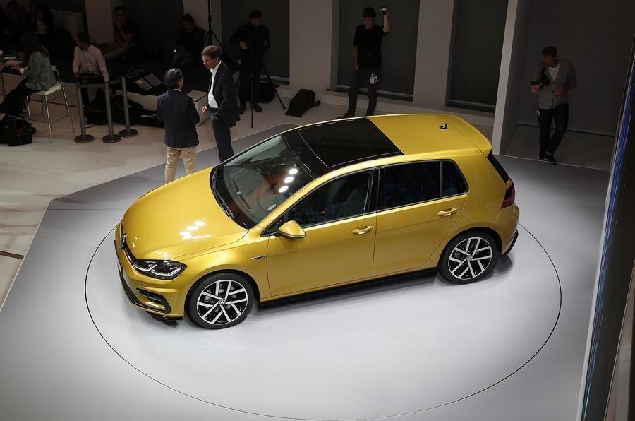 Volkswagen Golf Facelift - Poze reale