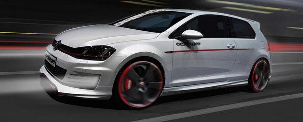 Volkswagen Golf GTI by Oettinger: Noi jante, noi spoilere si 350 CP!