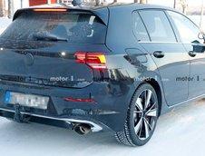 Volkswagen Golf GTI TCR poze spion