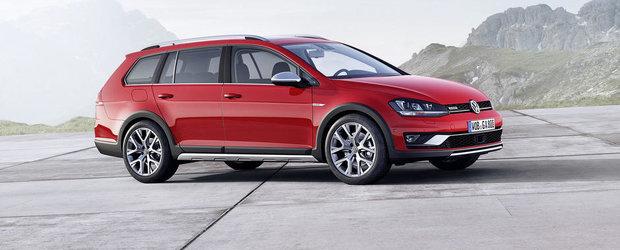 Volkswagen Golf primeste o versiune Alltrack pentru Salonul de la Paris