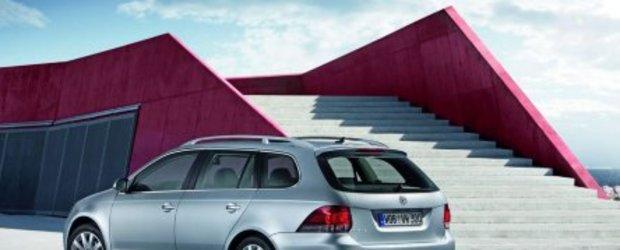 Volkswagen Golf Variant, - Din toamna in Romania
