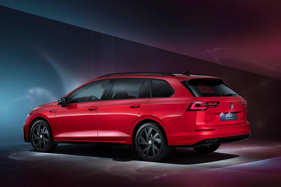 Volkswagen Golf Variant si Golf Alltrack