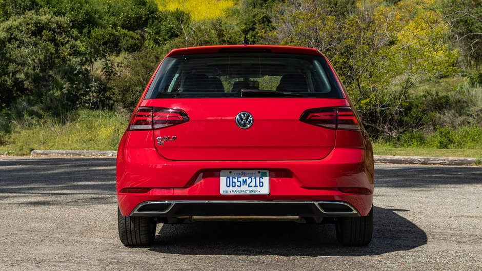 Volkswagen Golf - Versiunea americana