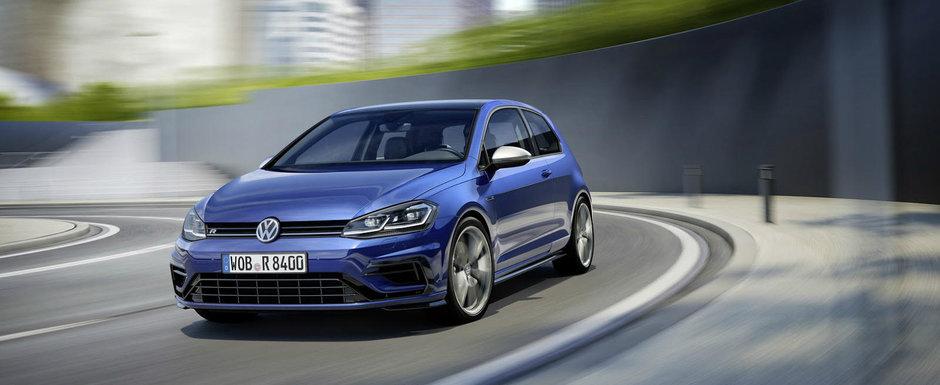 Volkswagen imbogateste gama Golf facelift cu 3 noi versiuni, inclusiv R