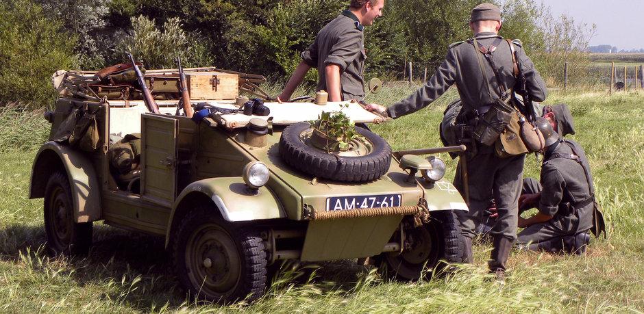 Volkswagen Kübelwagen, 'Jeepul german' produs de Porsche care a cucerit Europa