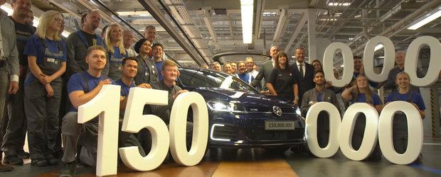 Volkswagen la aniversare: masina cu numarul 150 de milioane a parasit linia de asamblare