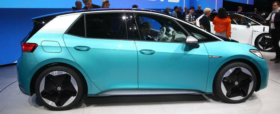 Volkswagen lanseaza electrica poporului cu autonomie maxima de 550 kilometri. POZE REALE