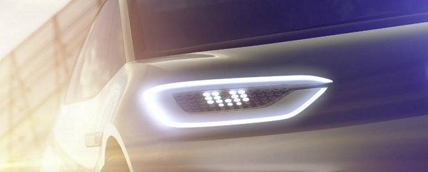 Volkswagen lasa poluarea in urma cu acest nou concept electric pe care il vom vedea la Paris