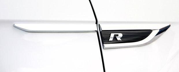 Volkswagen lucreaza la o noua masina cu cel putin 300 de cai sub capota. Fotografii spion au surprins-o complet necamuflata