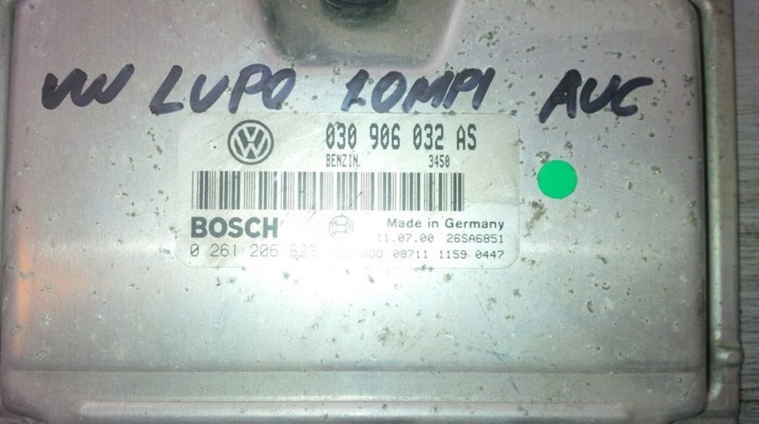 volkswagen lupo 1.0mpi auc 030906032AS BOSCH 0261206823