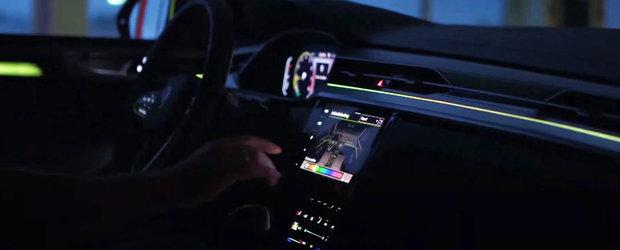 Volkswagen ne arata de azi interiorul masinii de lux pe care o va lansa in cursul zilei de maine. VIDEO
