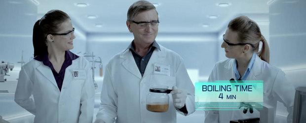 Volkswagen ne prezinta noul model Ameo facand... ceai