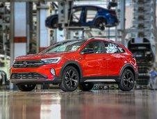 Volkswagen Nivus - Imagini de pe linia de productie