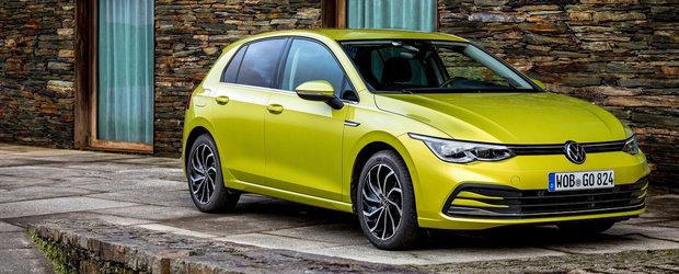 Volkswagen opreste livrarile noului Golf 8. Ce probleme au gasit nemtii la masina lansata anul trecut