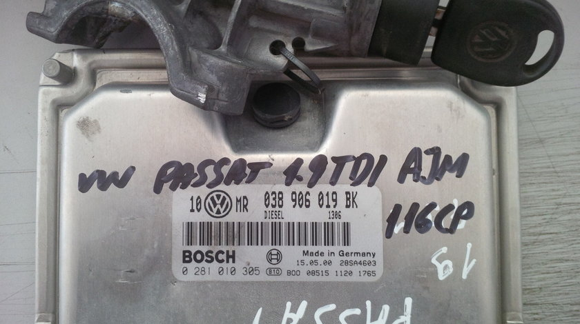 volkswagen passat 1.9tdi ajm 038906019BK BOSCH 0281010305