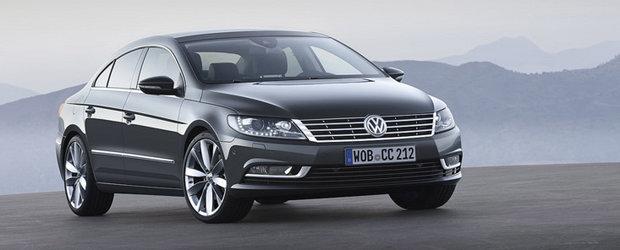 Volkswagen Passat CC Facelift - Primele fotografii oficiale