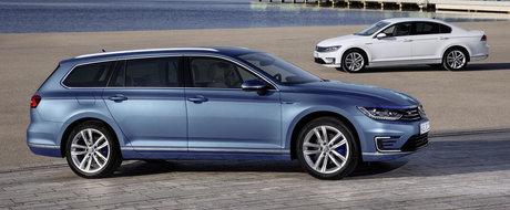 Volkswagen Passat GTE pozeaza in detaliu, in peste 45 de noi fotografii