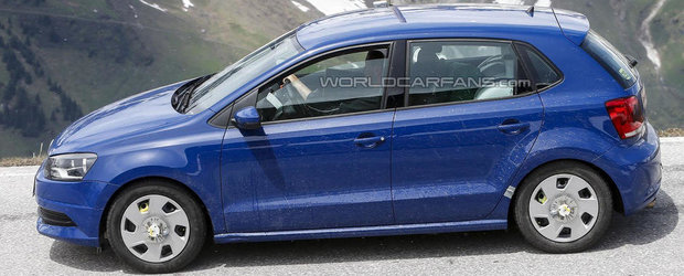 Volkswagen Polo facelift va primi motorul de la Up!