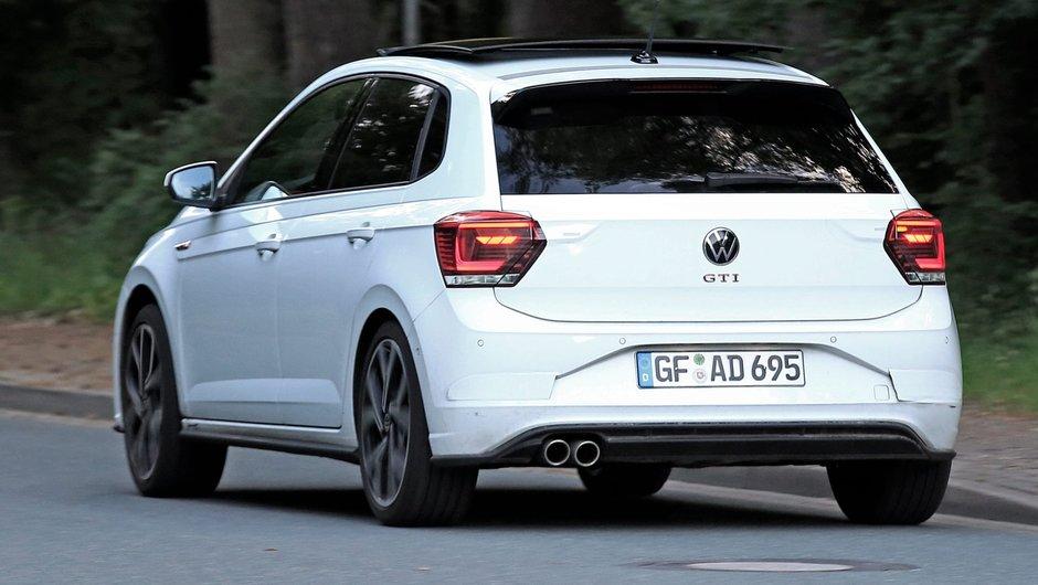 Volkswagen Polo GTI Facelift - Poze spion