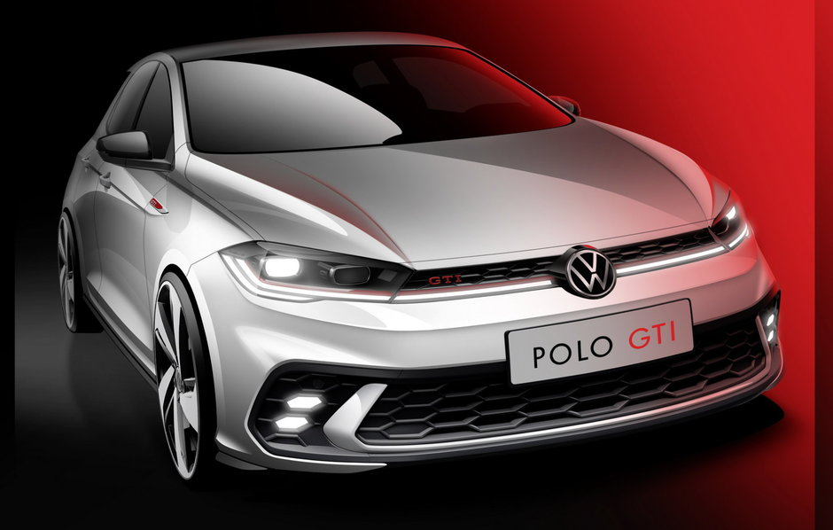 Volkswagen Polo GTI Facelift - Prima poza oficiala