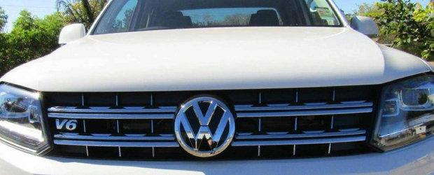 Volkswagen pregateste lovitura fatala pentru Mercedes X-Class. Nemtii anunta un Amarok cu trei punti si sase roti