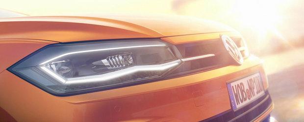 Volkswagen pregateste o noua lansare. Primele imagini ale viitoarei masini au fost deja publicate