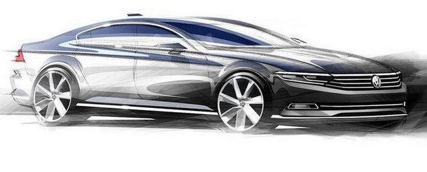 Volkswagen publica primele imagini si detalii ale noului Passat