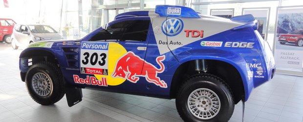 Volkswagen Race Touareg 2 poate fi admirat la MIDOCAR Vitan