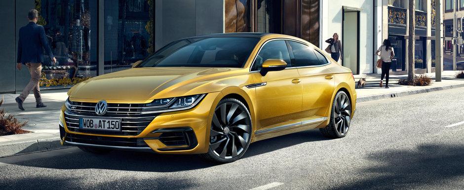 Volkswagen reinvie motorul VR6. O versiune turbo de 404 cai va propulsa noul Arteon R