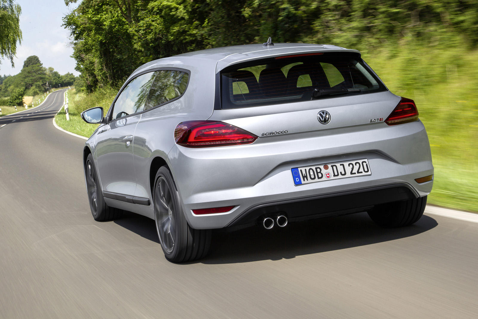 Volkswagen Scirocco Facelift - Galerie Foto - Volkswagen Scirocco Facelift - Galerie Foto